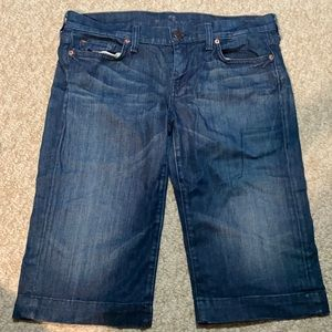 Seven for all Mankind , Jean shorts